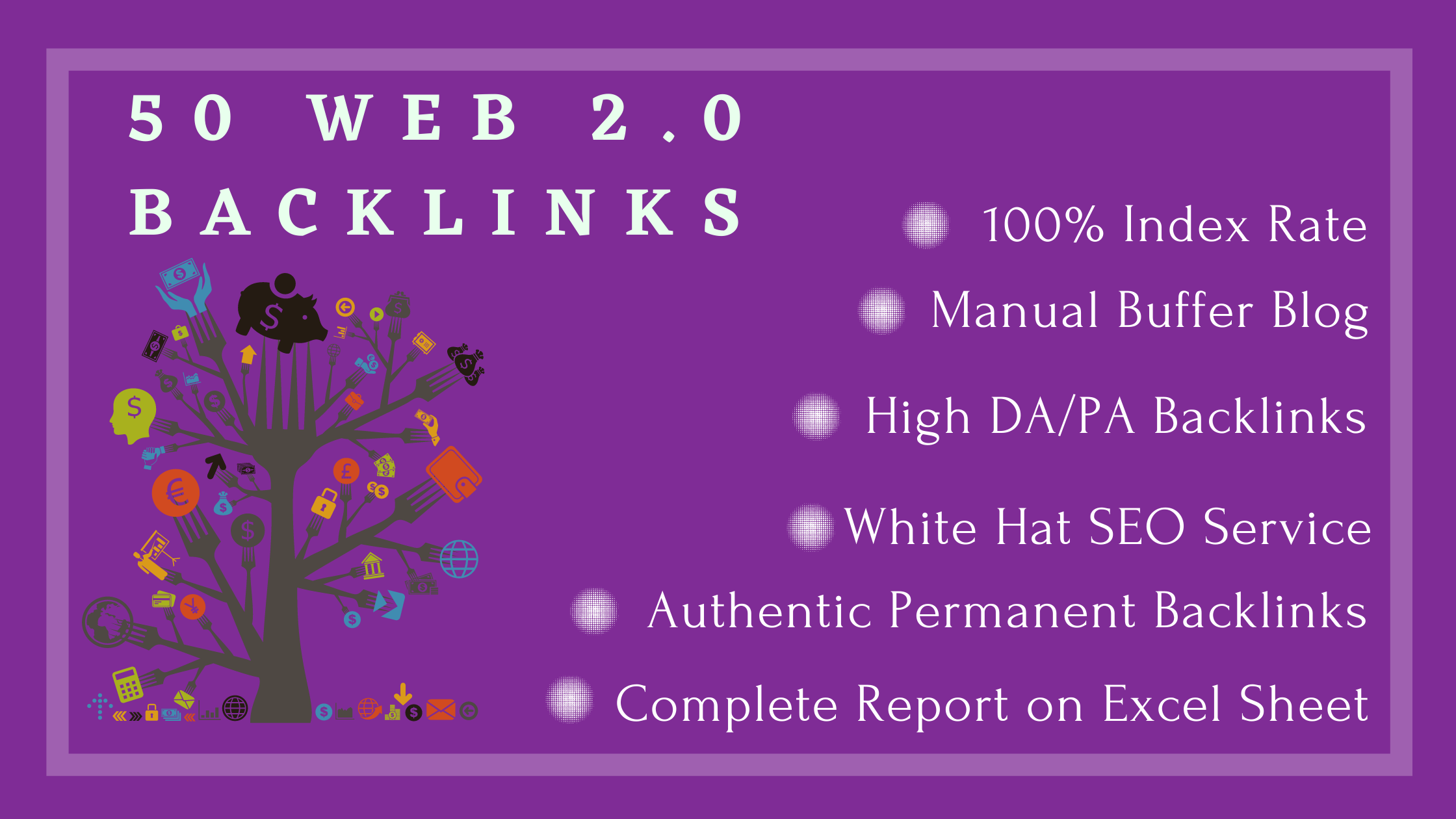 I will provide 50 high authority web 2.0 backlinks to boost your website in google on the first page
