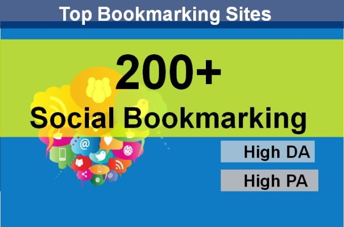 Get 200 HQ Social Bookmarks Backlinks for your Website, Keyword and Youtube