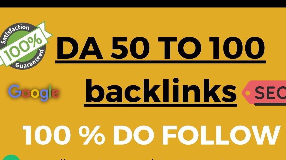 Miracle 40 DA50-DA100 Best Dofollow backlinks To Rank Higher