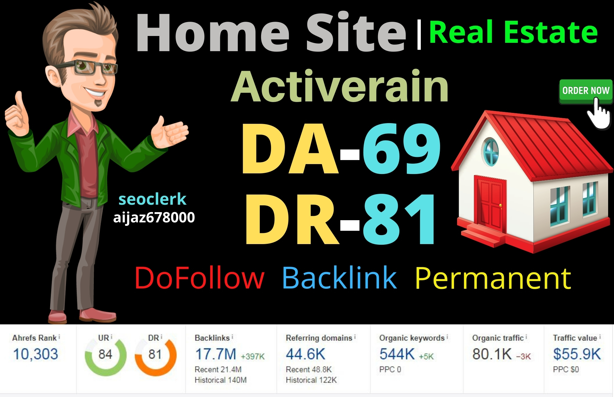 I will write publish your article on high quality sites active-rain with authority back-links