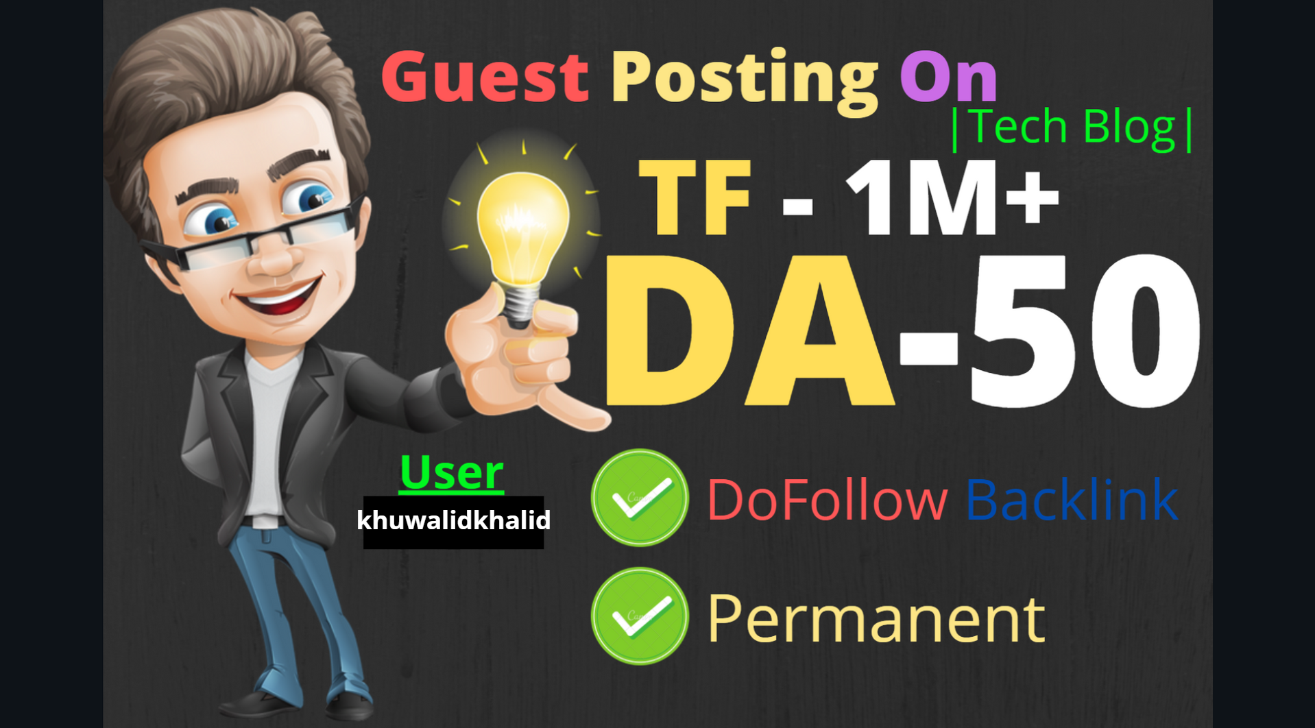 I will do guest post in da 60 and pa 56 tech blog