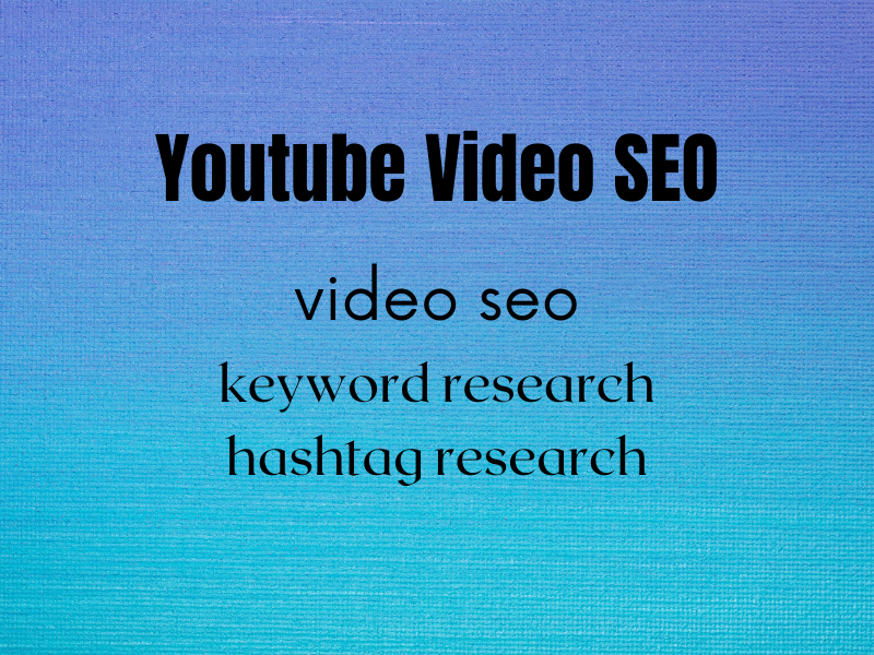 I will do video seo, video promotion and video marketing