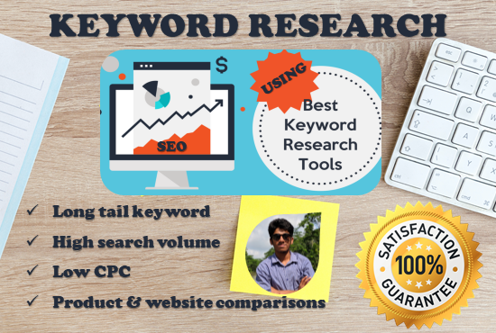 do keyword research and competitors analysis for your business