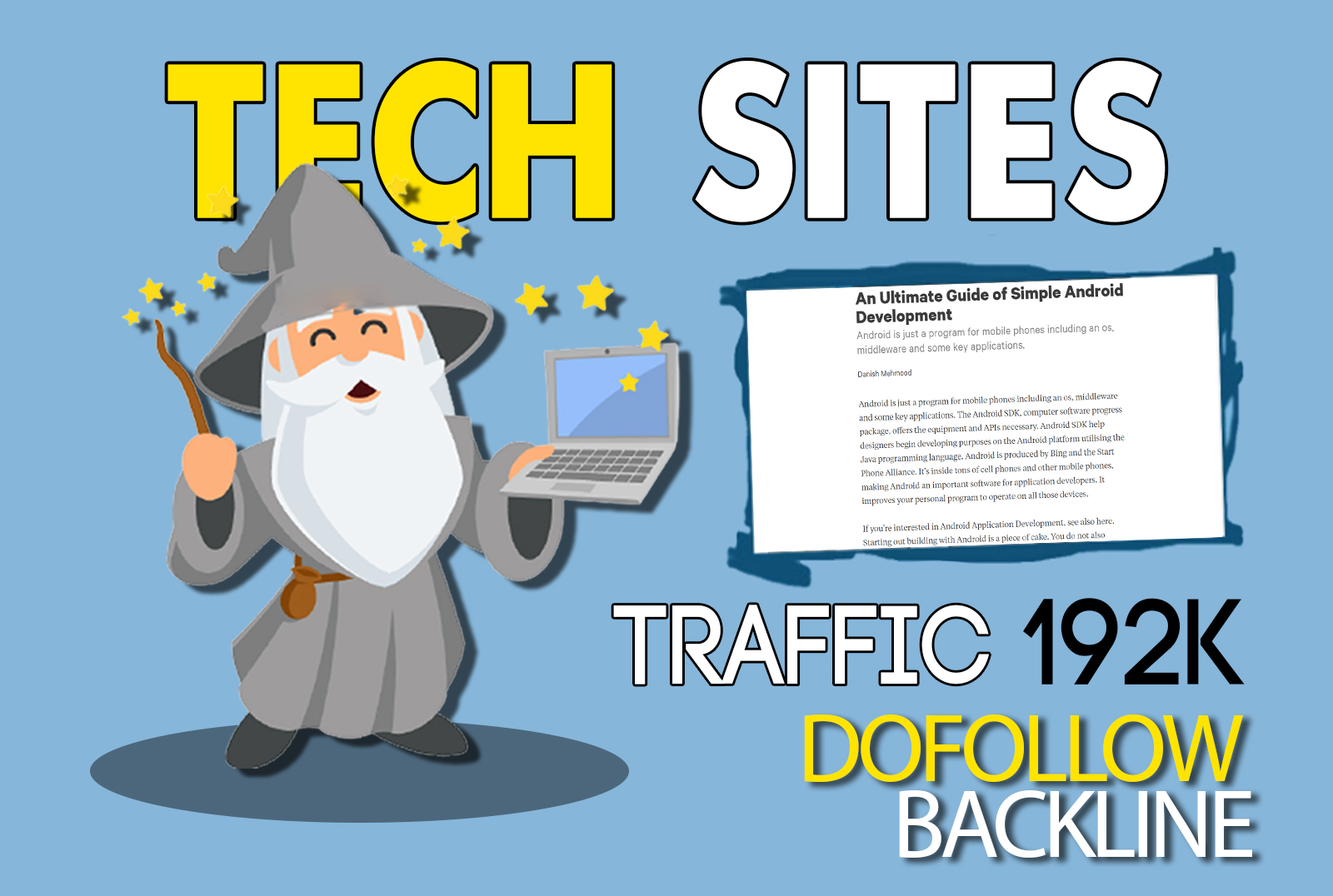 guest post on tech sites with permanent dofollow link