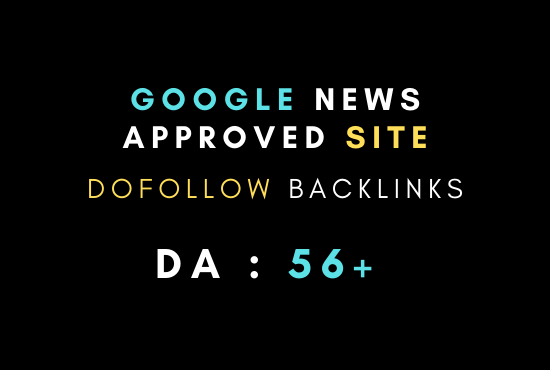 I will do guest post on google news approved site