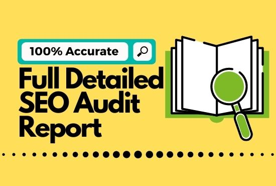 Full detailed SEO audit report with Robot.txt and more