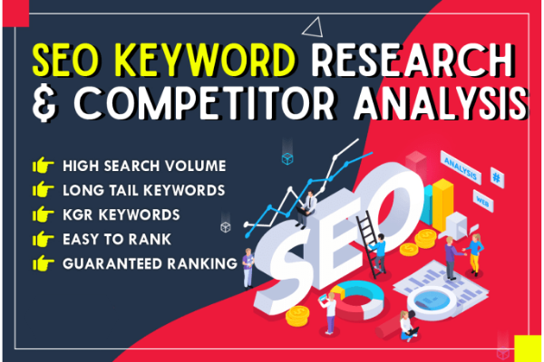 I will do expert SEO keyword research and competitor analysis