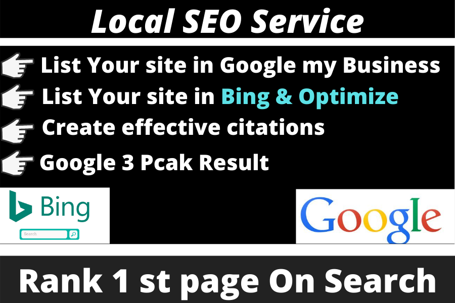 I will do monthly local SEO service for local business ranking