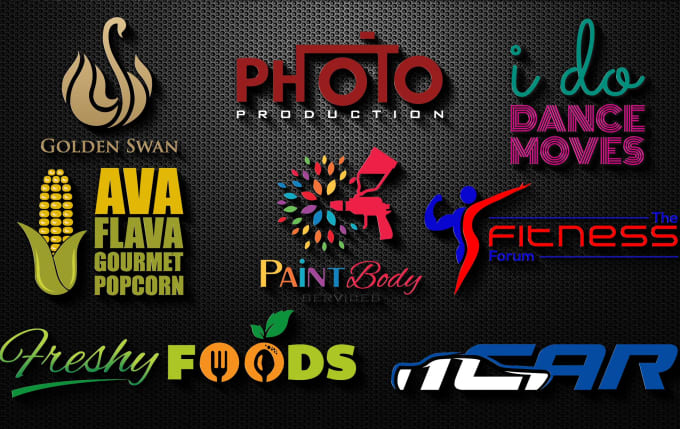 I will design modern and trendy logo in 24hrs