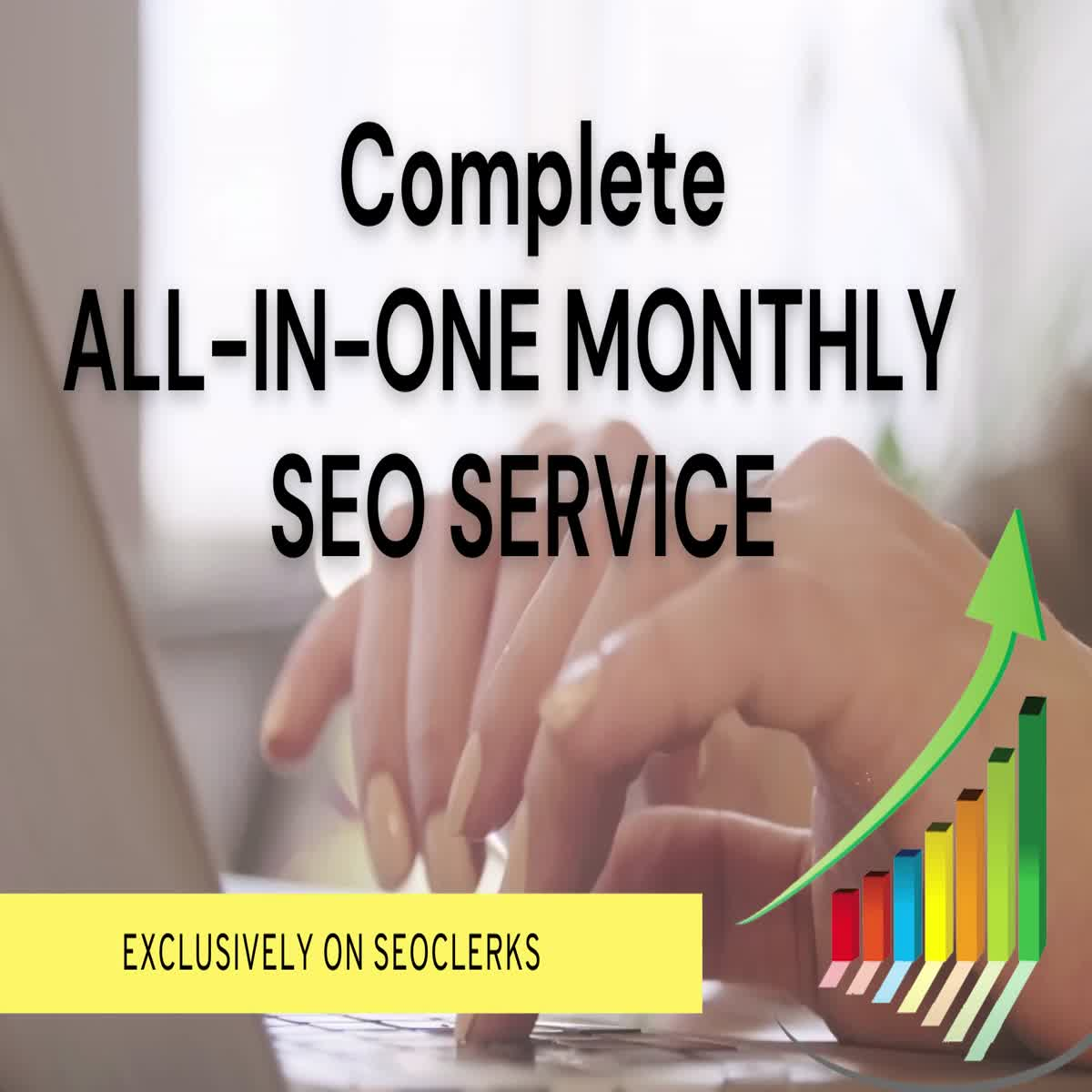 Complete Monthly SEO for Website Onpage/Offpage for higher rankings and traffic/sales