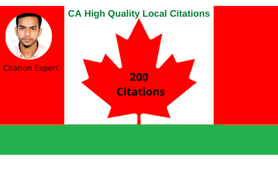 I will create top canada local citation for highlight your business