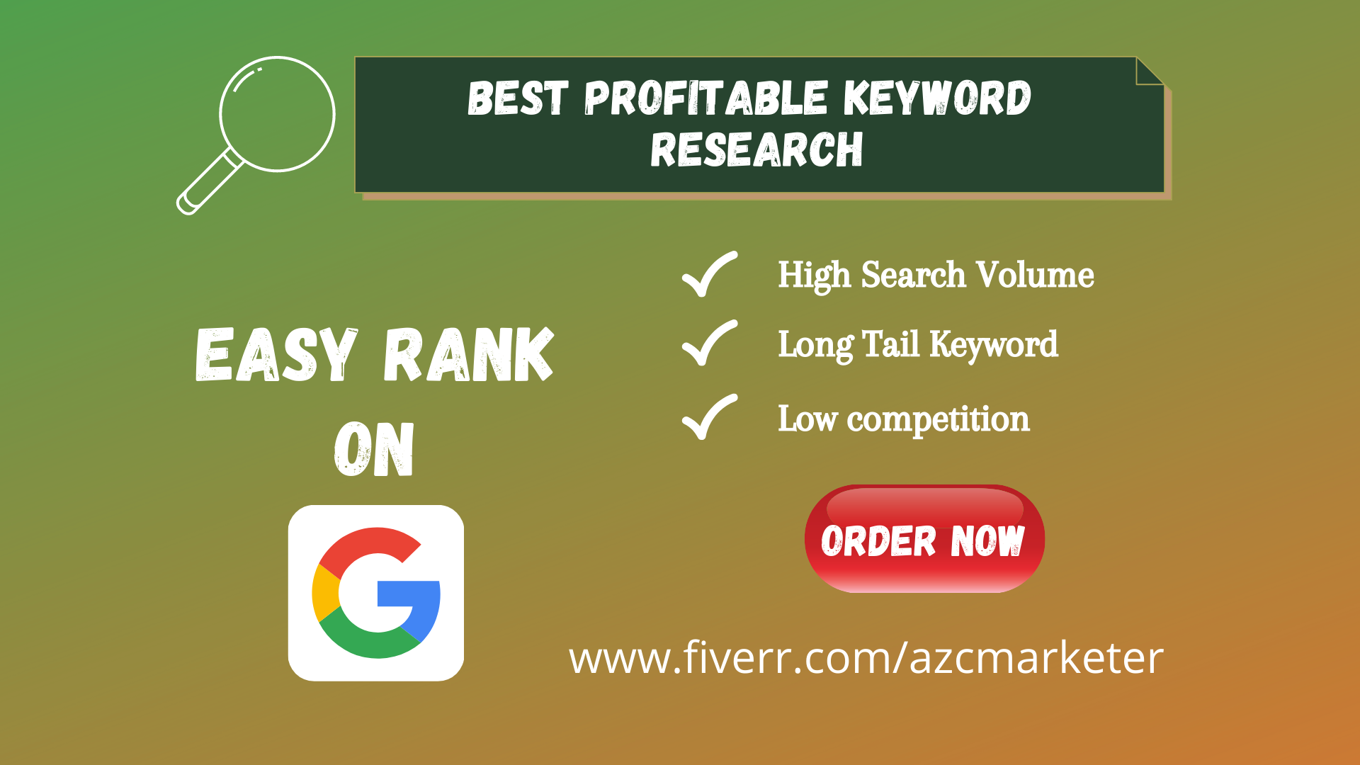 I will do 20 profitable keyword research for easy rank on google.