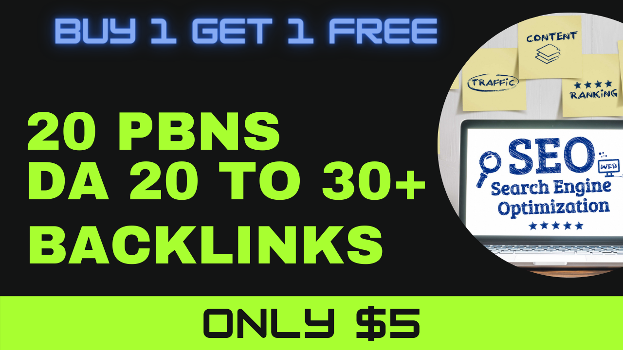 I will provide 20 pbn links do follow pbn backlinks