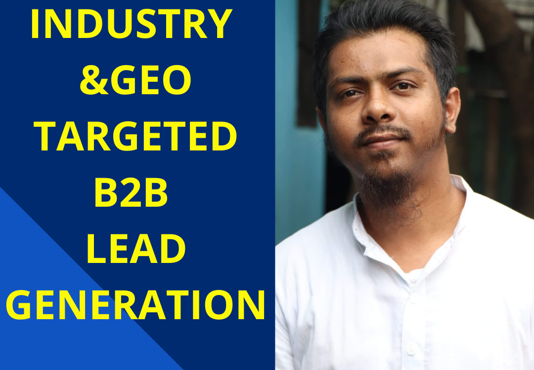 I will do email marketing list for b2b lead generation