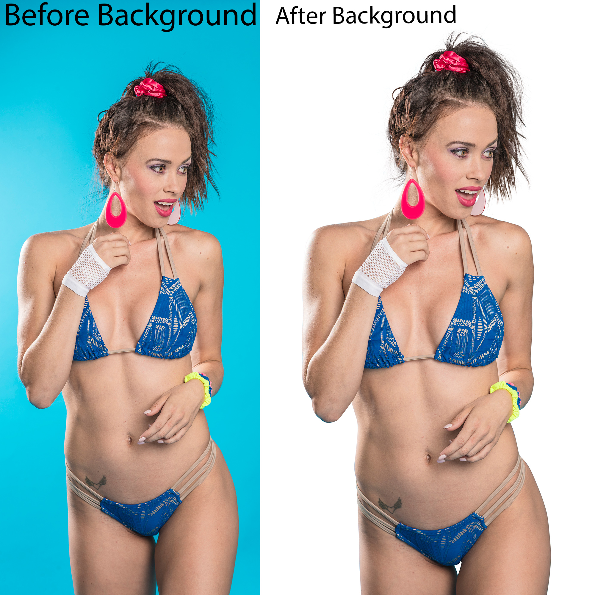 I will do background removal and cut out images 20