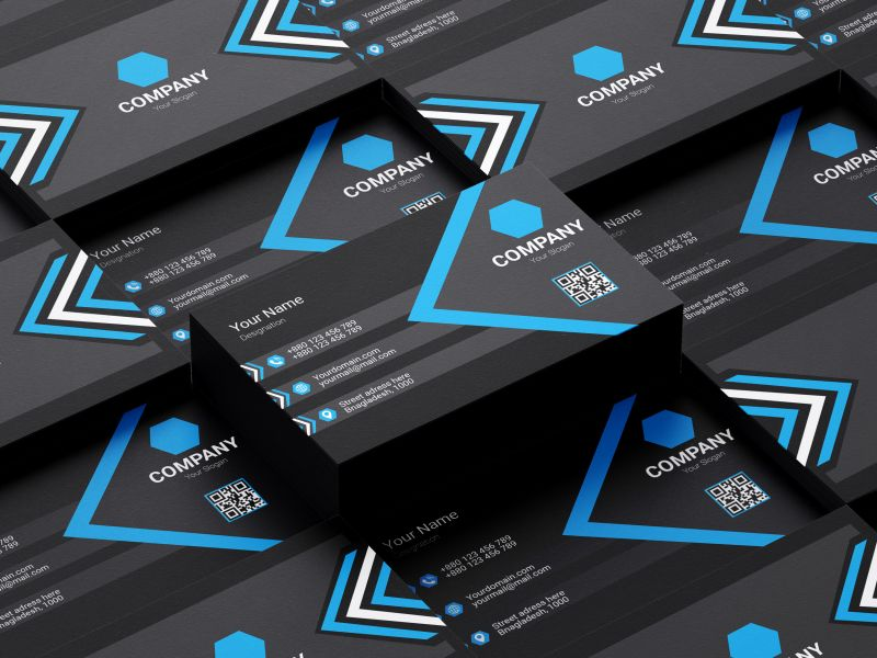 I Will do Minimalist and luxury Business Card Within 24 hour