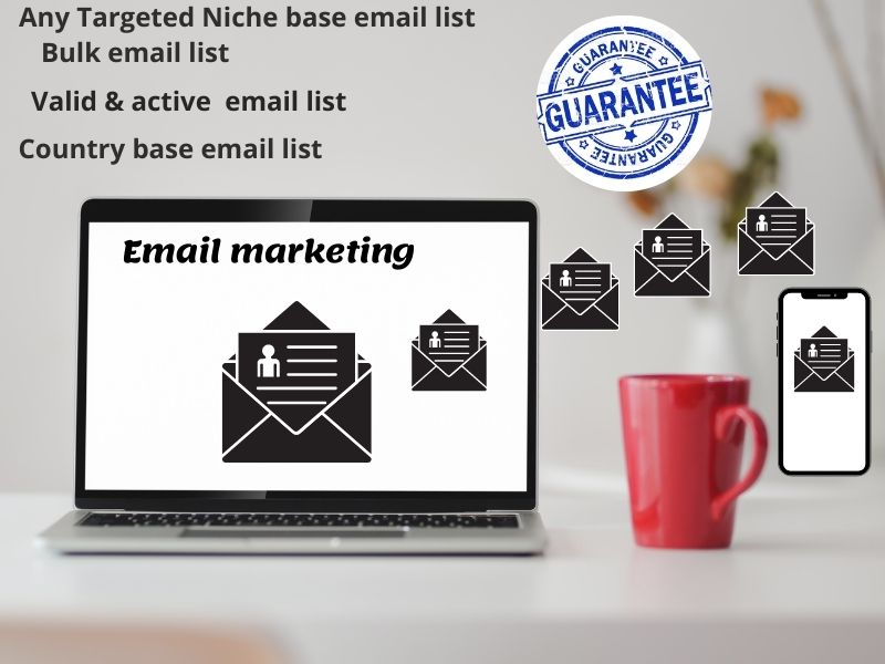 I will provide you 1k any country wise niche Targeted & Bulk email list for your email marketing