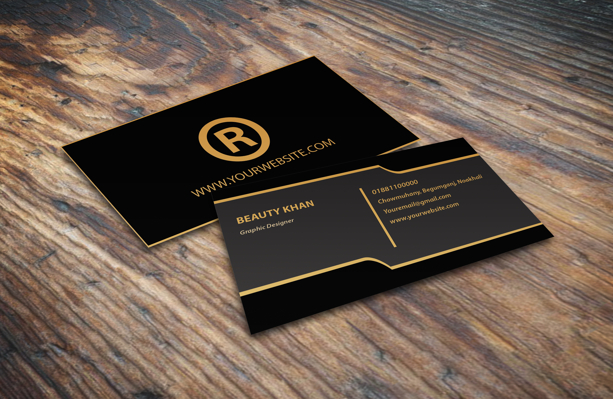 I will design an amazing business card for you