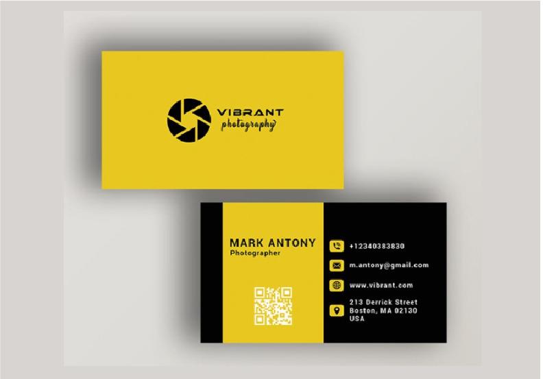 I will create unique minimalist business card