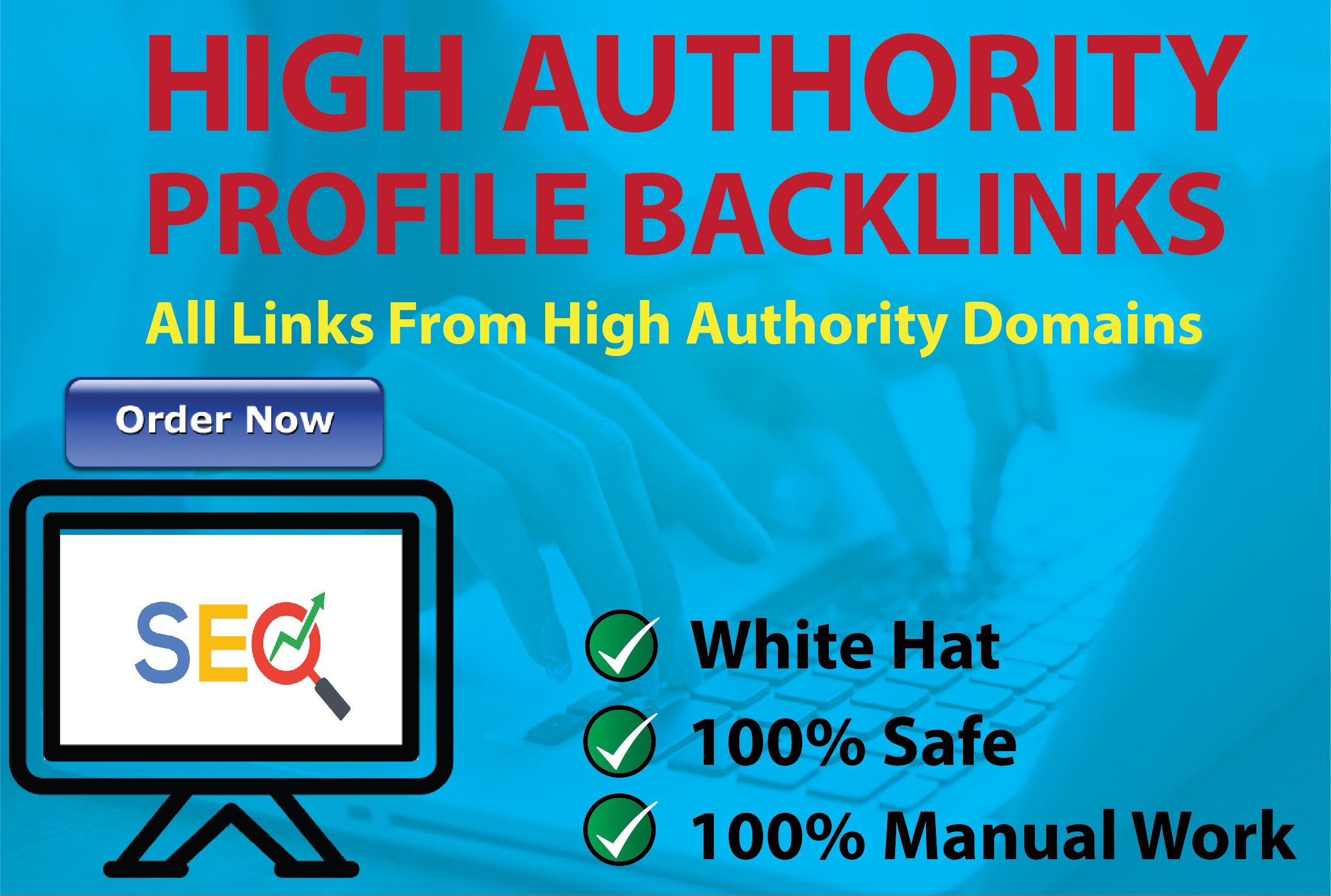 I will do manually create 70 high authority SEO profile backlinks for website