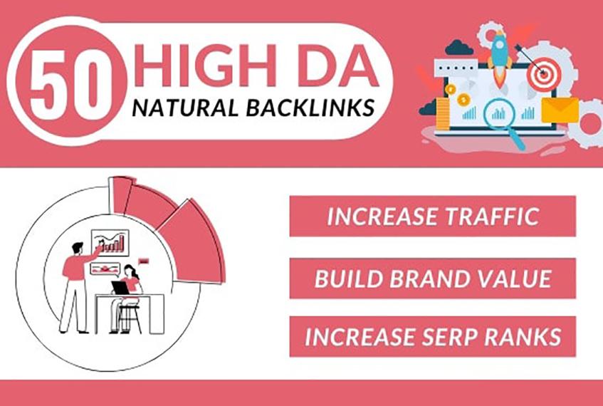 Create high da dofollow SEO backlinks for google top ranking