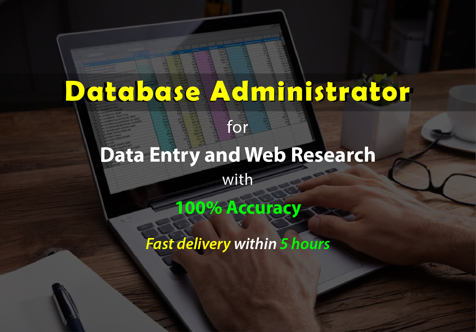 Hire Professional Database Administrator for Data Entry and Web Research
