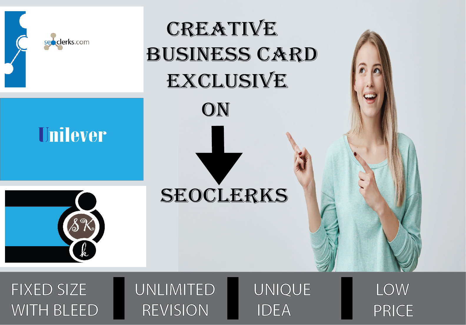 I will design a professional,  innovative,  talented,  fresh,  productive business card for you.a