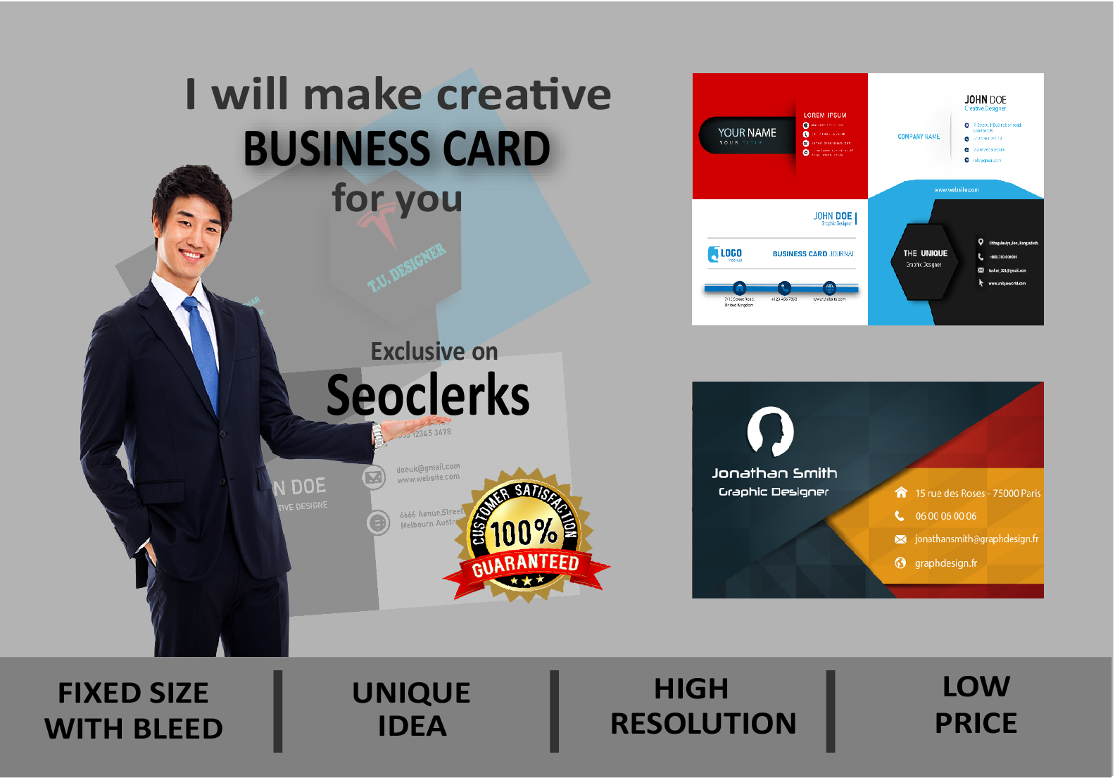 I will Design a Profesional and Stylish Business Card for you
