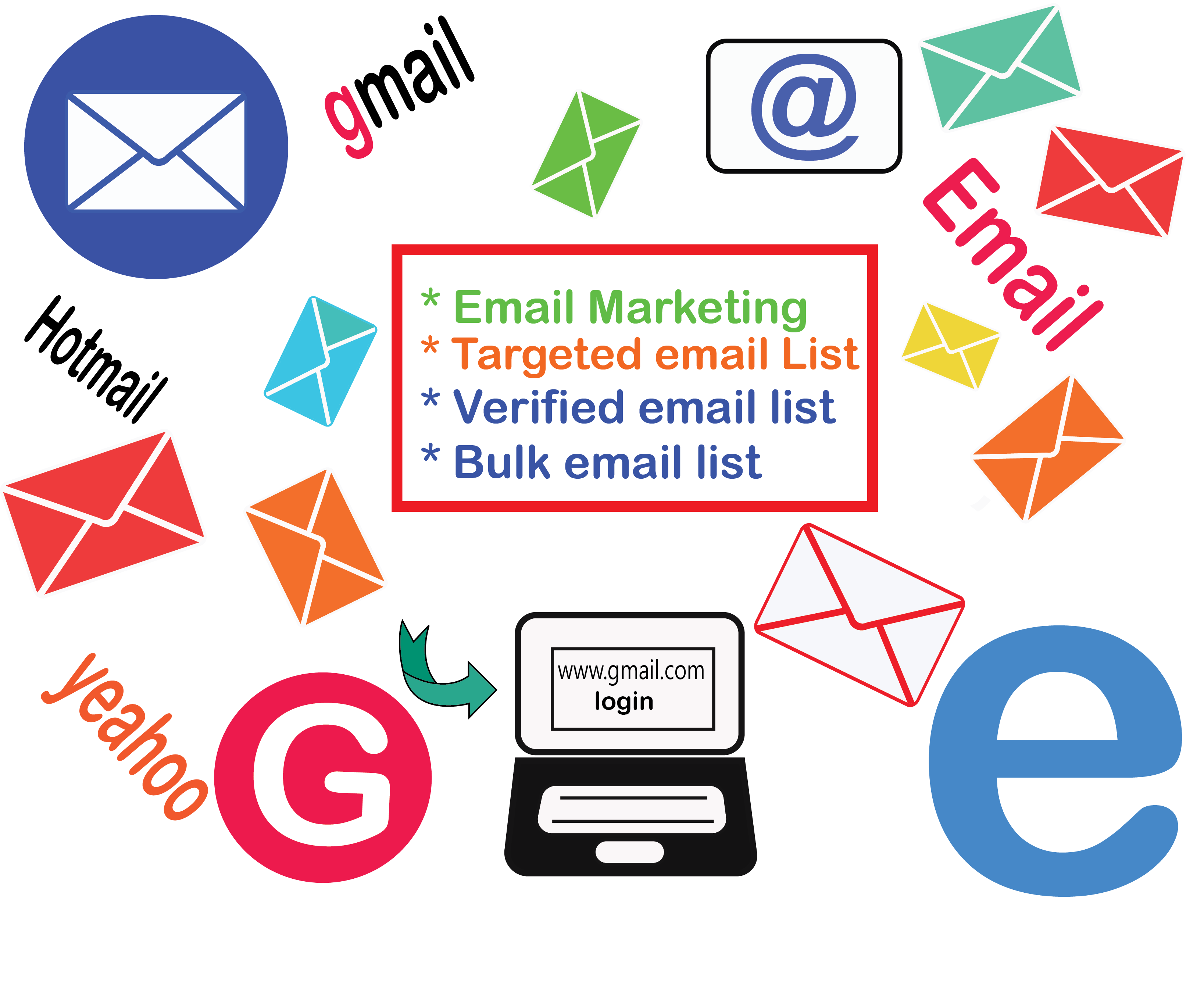 You will be provided 1k valid email for marketing purposes