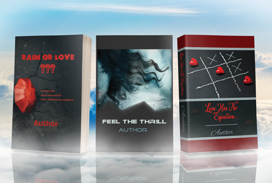 I will design amazing book cover and format your book