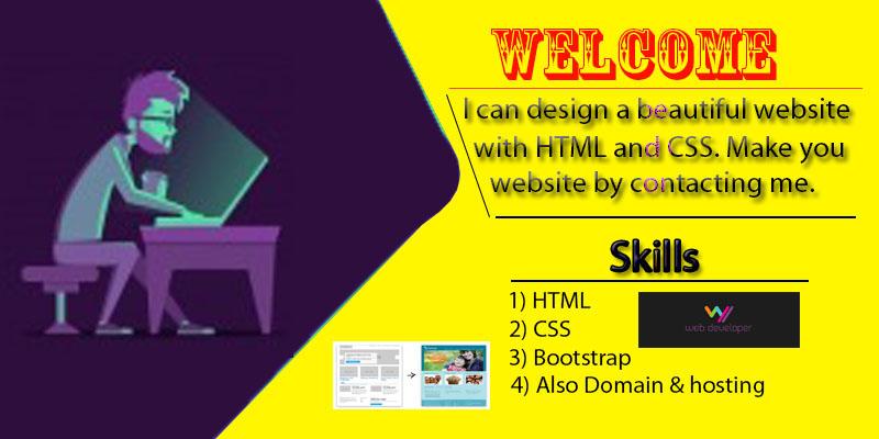 Design your own website.