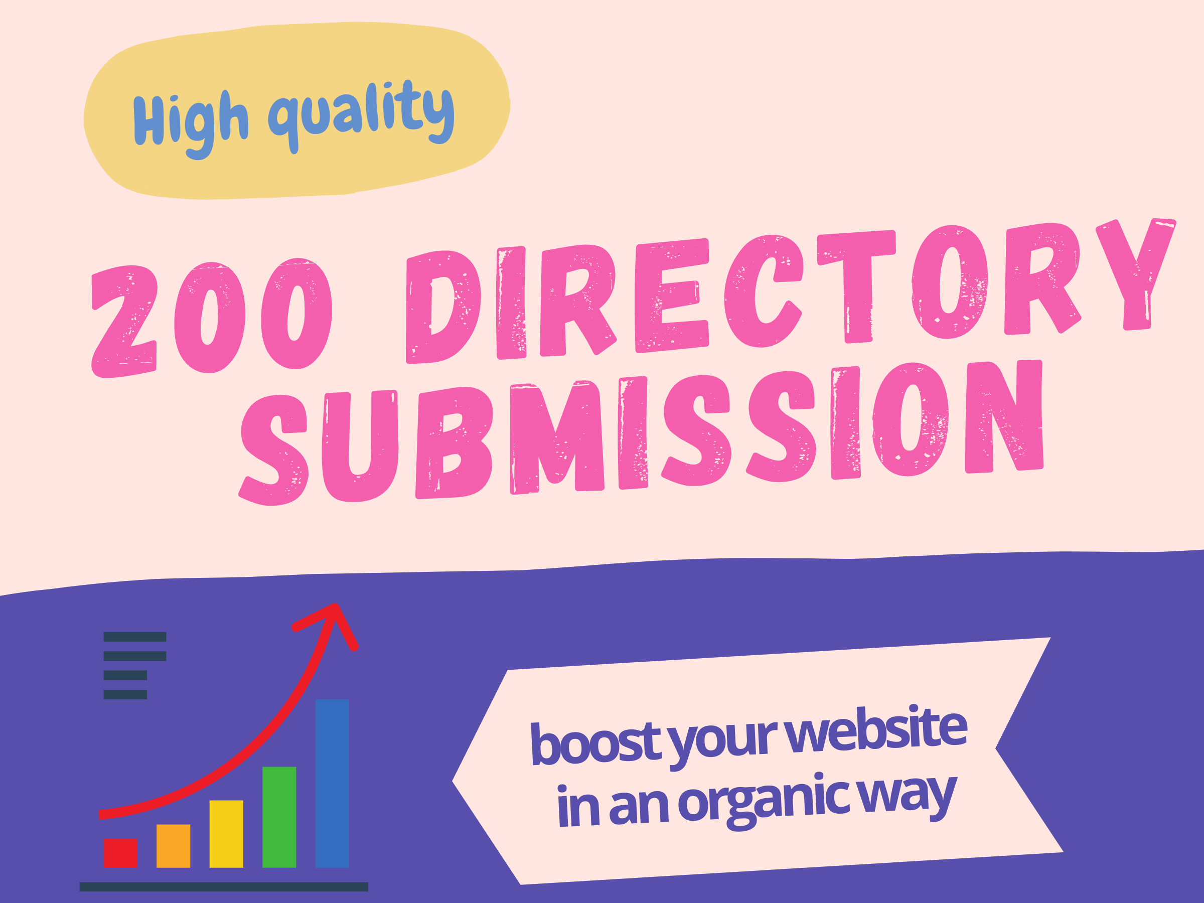 I will do 200 directory submission backlinks