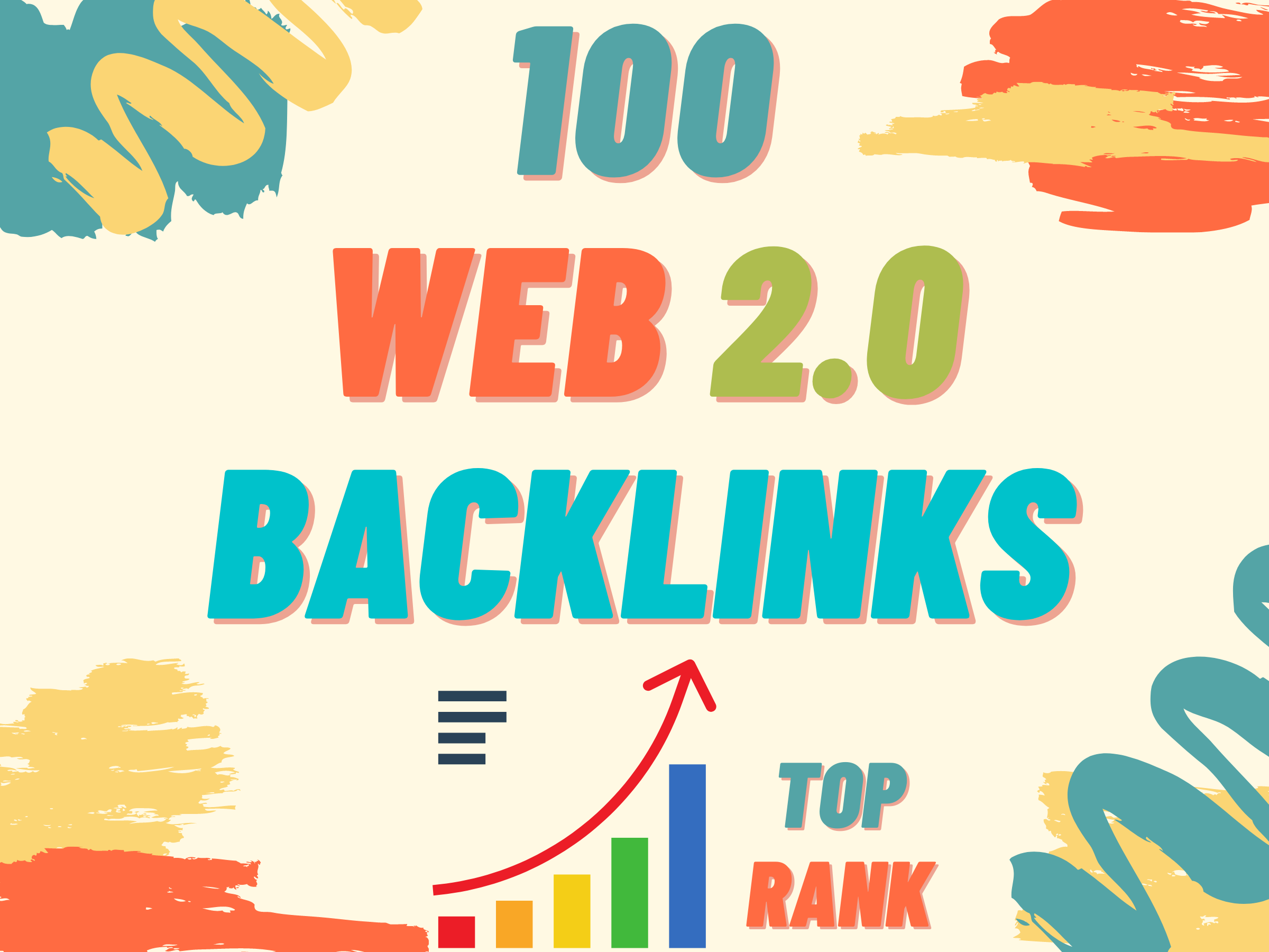 Land on google 1st page with 100 High DA Web2.0 Backlinks