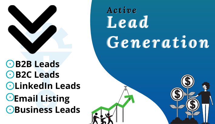I will do b2b lead generation and web researches
