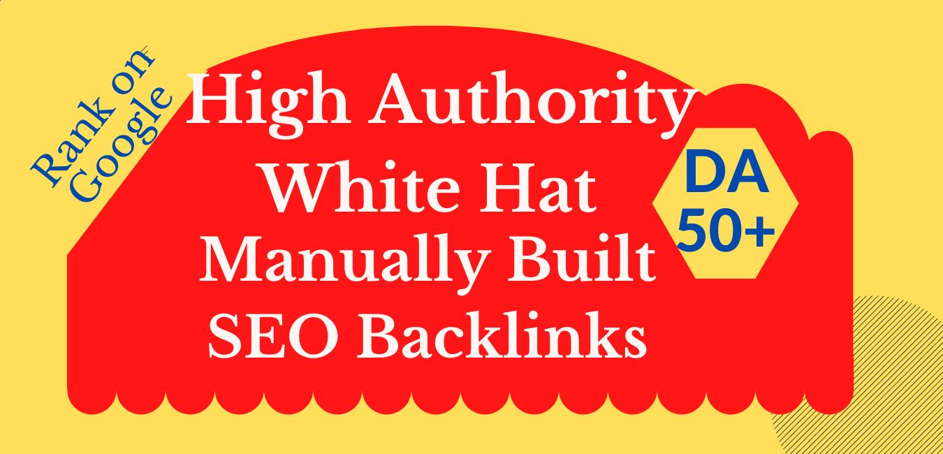 I will manually do 100 SEO High Pr Backlinks