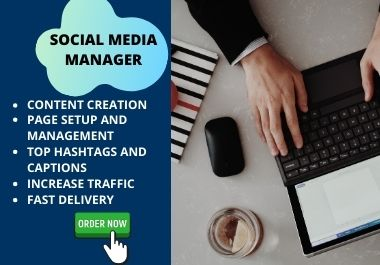 Will be your professional social media manager to boost up your Facebook page