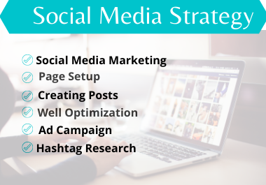 I will be Social Media marketing manager and virtual assistant