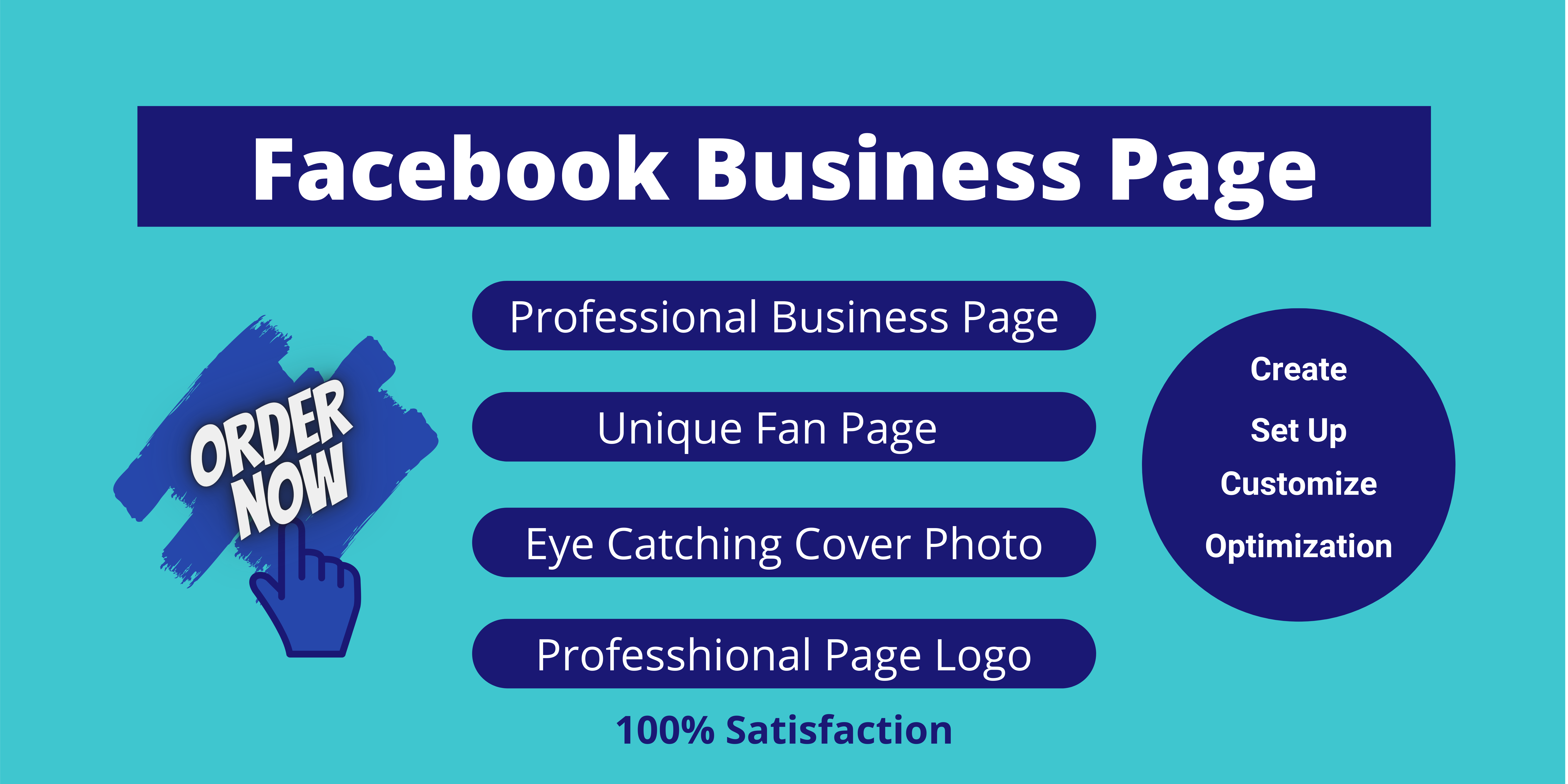 I will Create and Setup Facebook Page for your Business