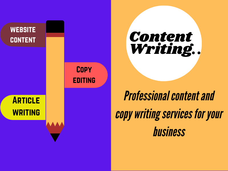 I will be your professional content writer.