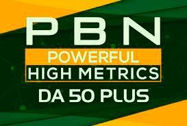 Build 20 High DA50+ Home Page PBN Backlinks - Dofollow Quality Links