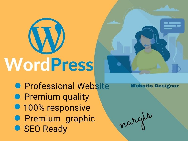 Design or Develop a wordpress website-SEO & SPEED optimized