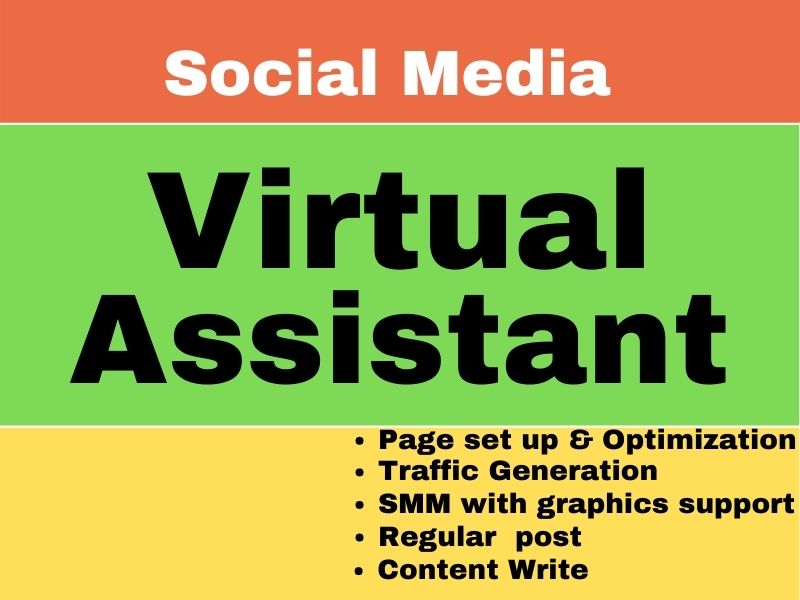 I will be your Social Media Virtual Assistant