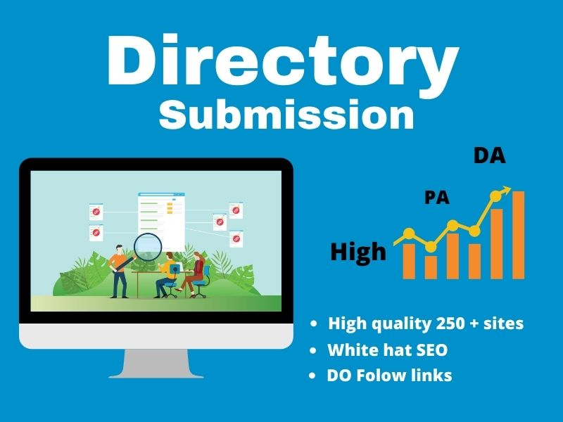 200 Manually High PR Directory submissions