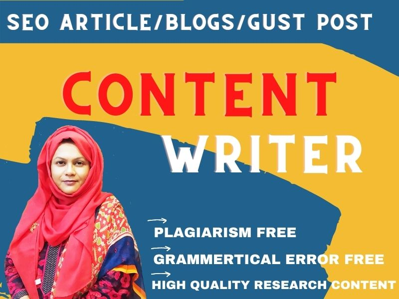 I will be your SEO Website content writer article writer of any Niche related content writing