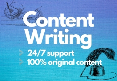 Write 600+ words of Premium Content Writing,  Article Writing,  Blog Post,  Rewriting on any topic.