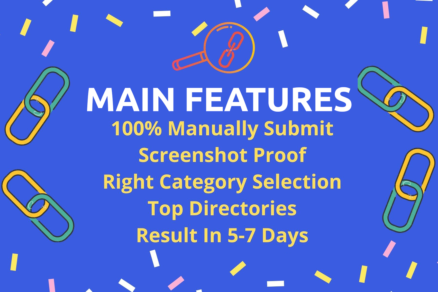 Manually submit 200 high authority directory submission