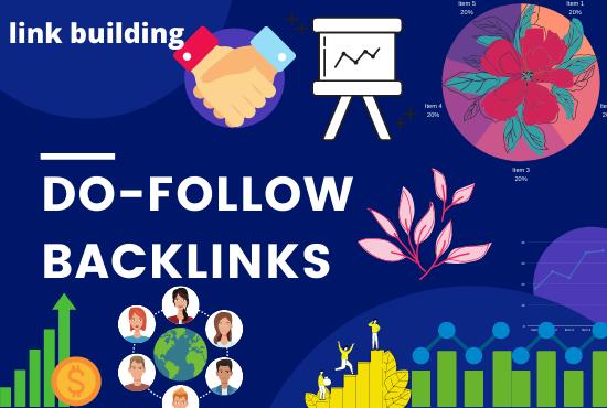 I will create pure do follow backlinks