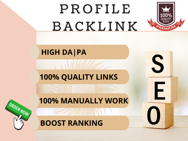 100 Extremely effective high authoriy profile backlink
