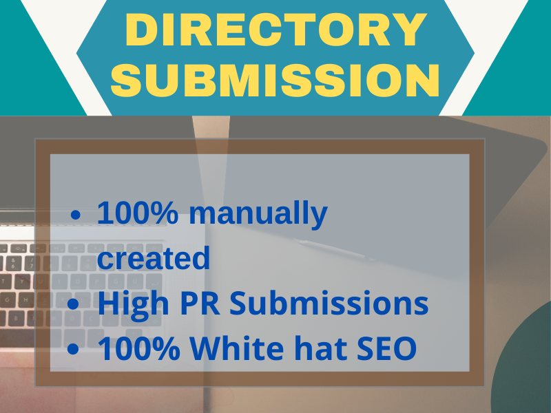 Provide 100 High PR Directory submission