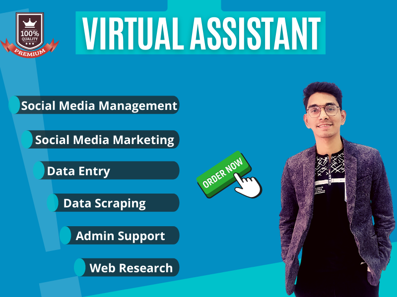 I will be your professional and dedicated virtual Assistant
